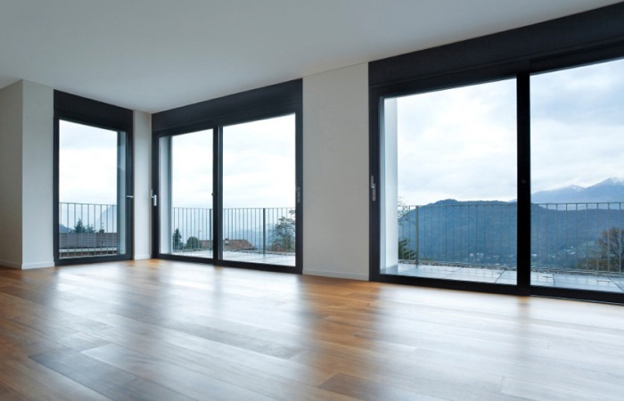 Vetrate scorrevoli e pareti panoramiche in alluminio aluboma - Finestre panoramiche ...